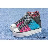 Giày bata cổ cao 3 màu SA096
