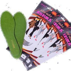 Bộ 3 đôi lót giày chăm sóc chân dành cho nữ - KOXUKA xanh lá cây