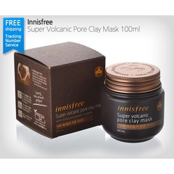 Mặt nạ Super jeju volcanic pore clay mask Innisfree
