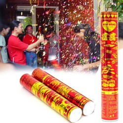 Combo 2 cây pháo hoa giấy ngày tết