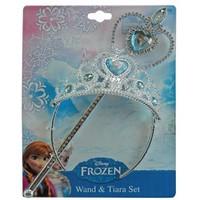 Bộ vương miệng và gậy phếp thuật Frozen Disney .