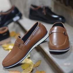 Giày da lười thiết kế trẻ trung, năng động