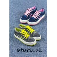 Giày bata 2 sọc màu SB063