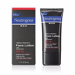 Kem dưỡng da mặt và chống nắng Neutrogena Men SPF 20 50 ml