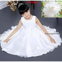 Váy công chúa thắt nơ đẹp lung linh cho bé gái từ 1-8 tuôi