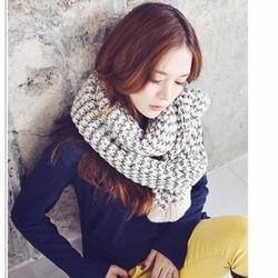 Khăn choàng len thu đông color Hàn quốc - HKKH1