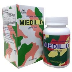 Thực Phẩm Chức Năng Miedil_D giúp tăng cường phát triển chiều cao