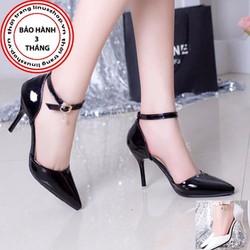 Giày cao gót nữ khóa đá - LN902