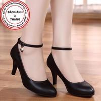 Giày cao gót khóa đá - LN893