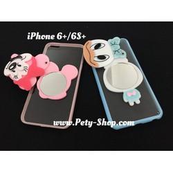 Ốp hình có gương iPhone 5 5S 6 6S 6 Plus 6S Plus