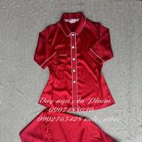 đồ bộ mặc nhà pijama lụa PJM04