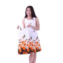 Đầm hoa bướm cho mẹ và bé