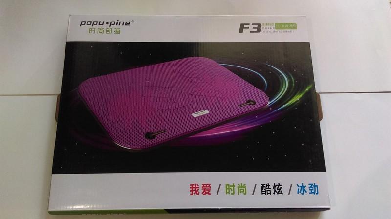 Đế Laptop Cooler Master F3 2 FAN 2