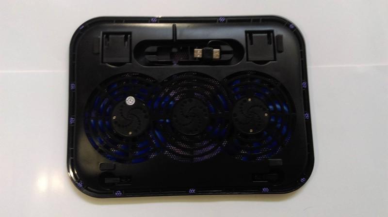 Đế Laptop Cooler Master F3 2 FAN 4