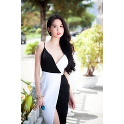 Đầm body Ngọc Trinh 2 màu D6919