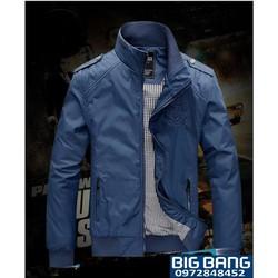Big Bang - Áo khoác dù cao cấp màu xanh rêu KK_441