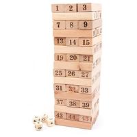 Bộ đồ chơi rút gỗ 48 thanh hấp dẫn