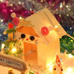 Quà tặng giáng sinh có đèn lung linh đáng yêu