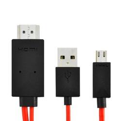 Cáp chuyển tín hiệu từ điện thoại lên tivi HDMI MHL 11 Pin