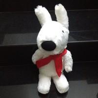 Thú nhồi bông Thỏ trắng lông cực mịn G039