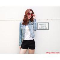 Áo khoác jeans nữ Hàn Quốc AK5012