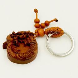 Móc chìa khóa phong thủy tượng Rồng
