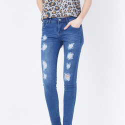 Quần Skinny jeans rách