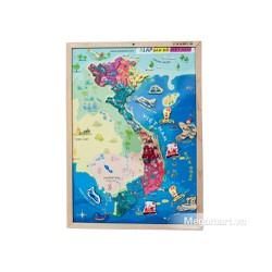 Poomko Bản đồ Việt Nam và biển đảo A3