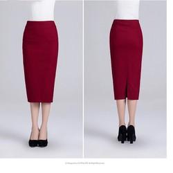 HÀNG ĐỦ SIZE: Chân váy bút chì dài