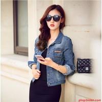 Áo khoác jeans nữ Hàn Quốc AK5026
