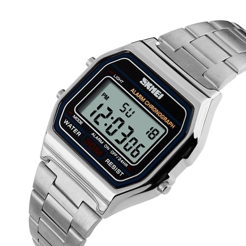 Đồng hồ Nam dây thép không rỉ SK070 6