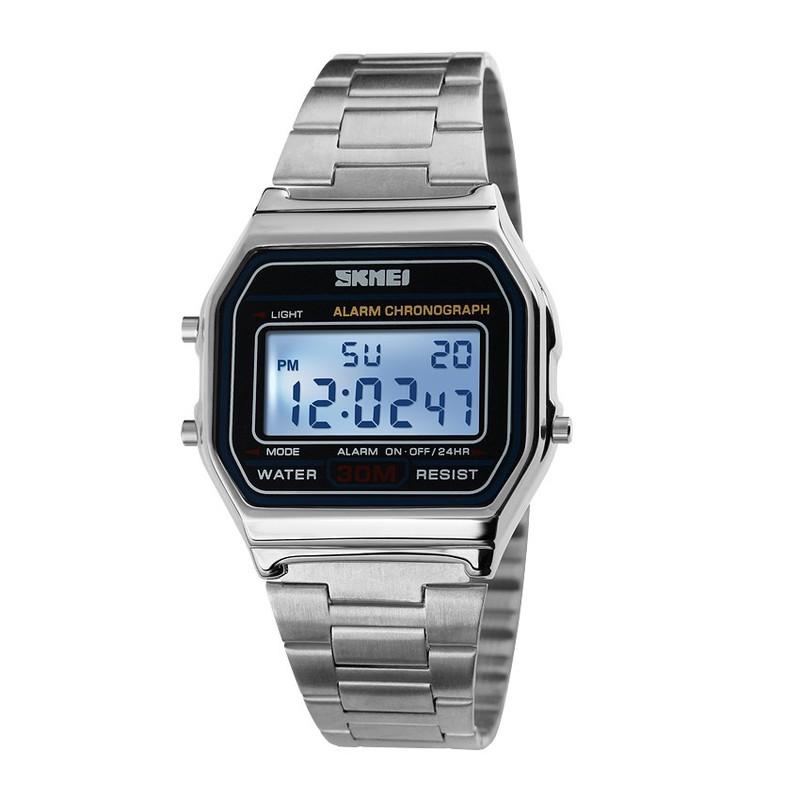 Đồng hồ Nam dây thép không rỉ SK070 5