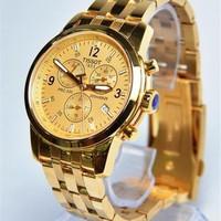 Đồng hồ Tissot  6 kim mạ vàng sang trọng