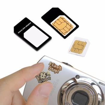 Adapter chuyển đổi nano sim và miếng dán chắn sóng điện từ