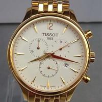 Đồng hồ Tissot 6 kim mạ vàng