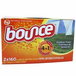 Giấy thơm quần áo Bounce 4 in 1 - 160 tờ của Canada