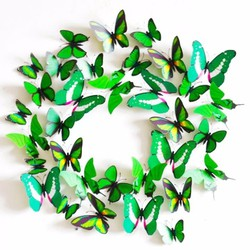 Bộ 12 bướm 3D trang trí phòng độc đáo 7969