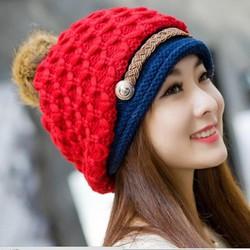 nón mũ len nữ thần thời trang thu đông cao cấp