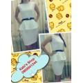 Đầm công sở váy rời dạng peplum - không kèm nịt