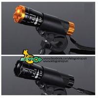 Đèn pin gắn ghidon xe đạp và du lịch