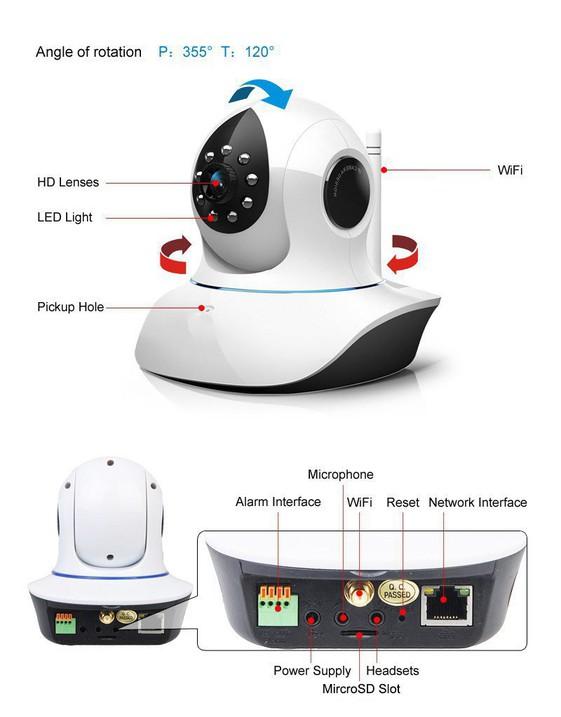 Camera IP Vstarcam C7838WIP 9