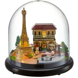 Mô hình nhà gỗ DIY - Paris Coffe shop - B018 -TINY HOUSE SHOP