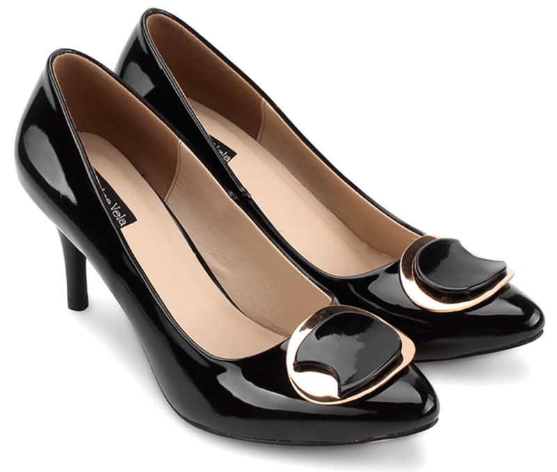 Giày cao gót bít mũi cao cấp - S7H002D 1