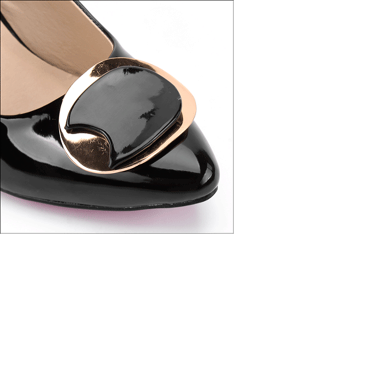 Giày cao gót bít mũi cao cấp - S7H002D 5