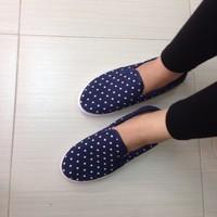 Giày Bata Chấm Bi C1