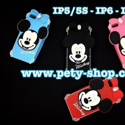 Ốp Minnie Mickey nơ iPhone 5 5S