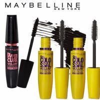 Bộ3 trang điểm mắt Mascara Maybeline Colossal cho mi dày gấp 10 lần