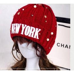 nón mũ len nữ thời trang Hàn Quốc sản phẩm mới cho mùa NOEL