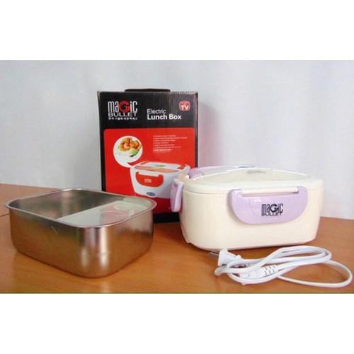 Hộp cơm hâm nóng bằng điện Magic Bullet MI 40 ruột INOX - 3873830 , 2518119 , 15_2518119 , 159000 , Hop-com-ham-nong-bang-dien-Magic-Bullet-MI-40-ruot-INOX-15_2518119 , sendo.vn , Hộp cơm hâm nóng bằng điện Magic Bullet MI 40 ruột INOX