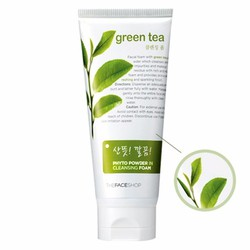 Sữa rửa mặt trà xanh Green Tea Phyto Power In Cleansing Foam TFS